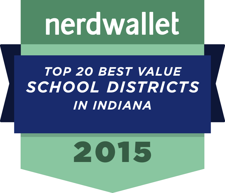 2015 NerdWallet award badge - top 20 value in Indiana
